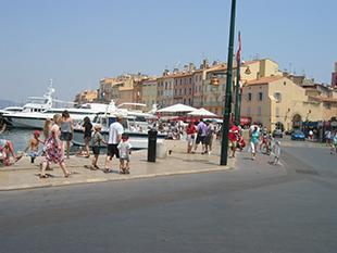 Havnen i St. Tropez